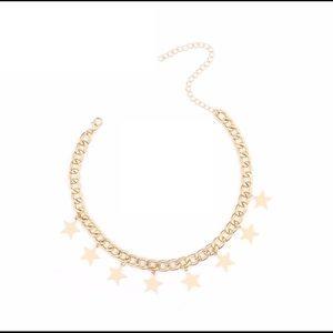 Aura Jewelry - Star Loaded Chain Choker